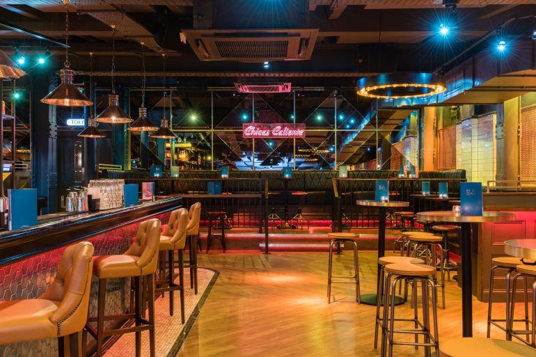 Birmingham bar interior