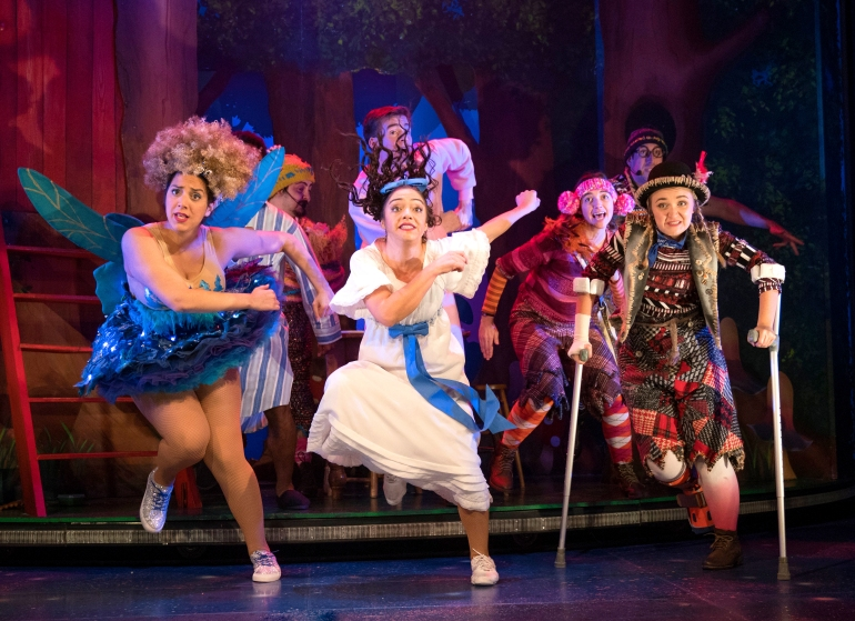 'Peter Pan Goes Wrong' Play on Tour
